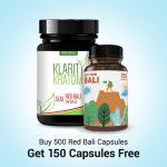Buy 500 Bali Capsules Get 150 Capsules Pack Free