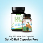 Buy 150 White thai get 40 capsules
