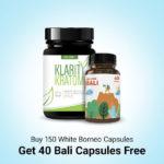 Buy 150 white Borneo get 40 capsules